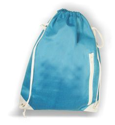 Gymbag with name - Blue